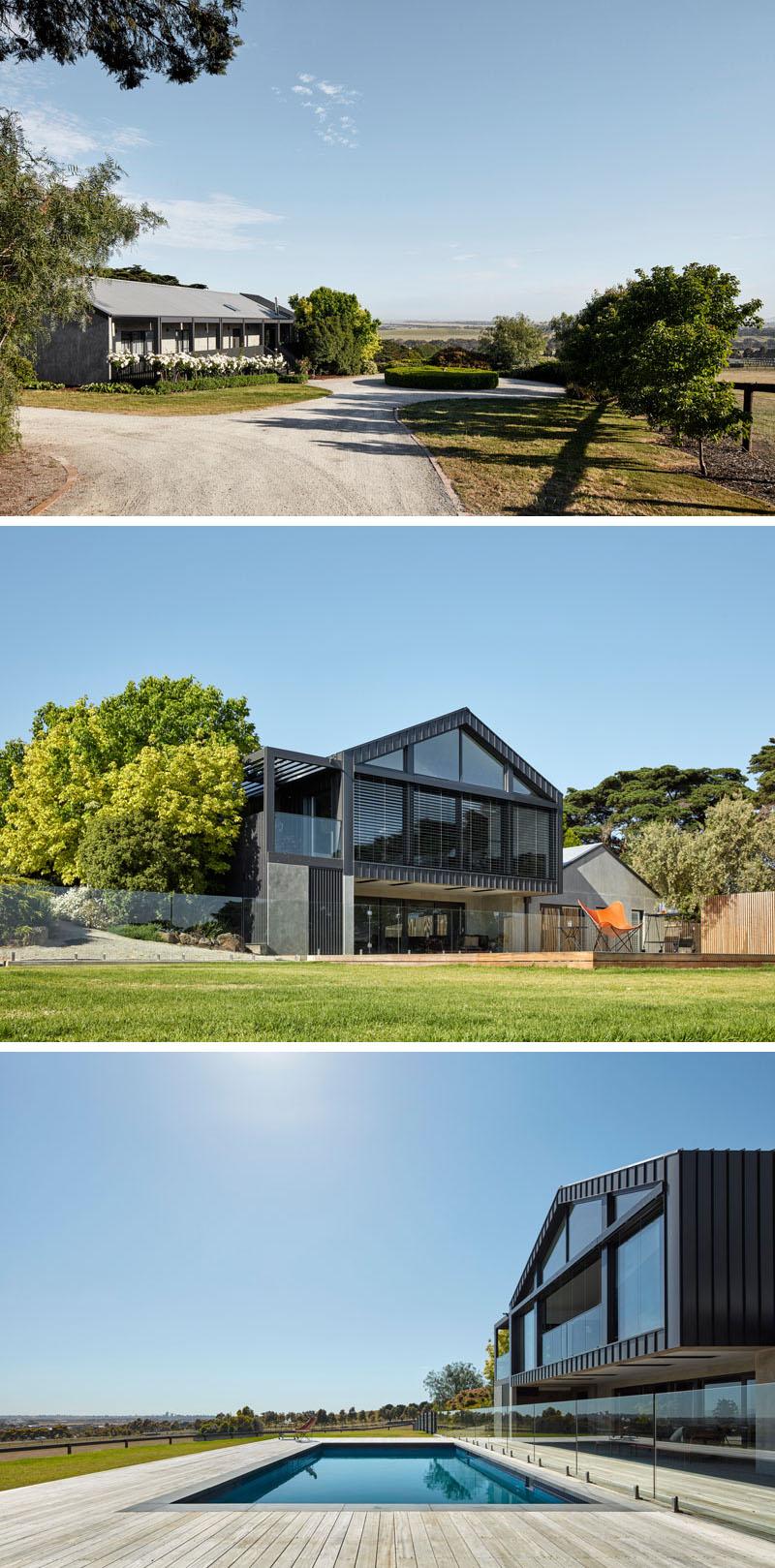 Австралийский дом с понтонами от Tecture