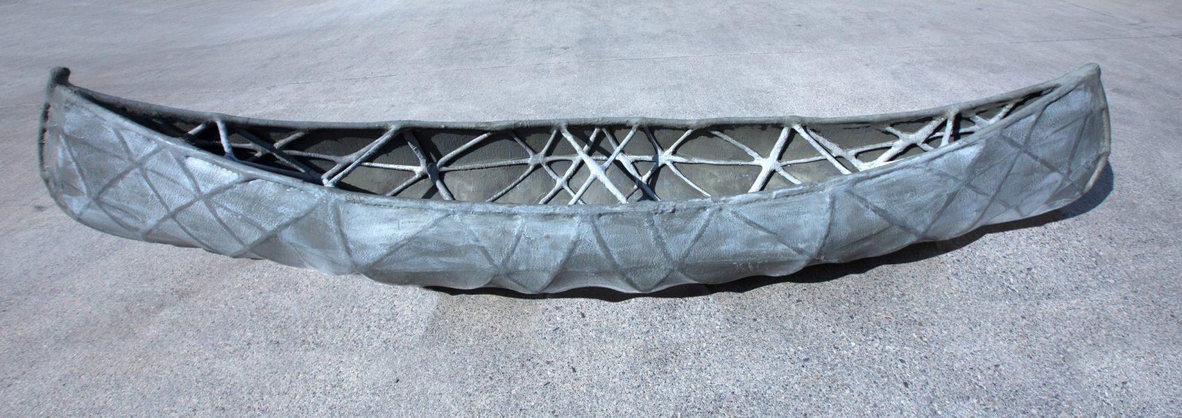 Команда из Швейцарской высшей технической школы Цюриха создает каноэ «SkelETHon», полностью выполненное из бетона