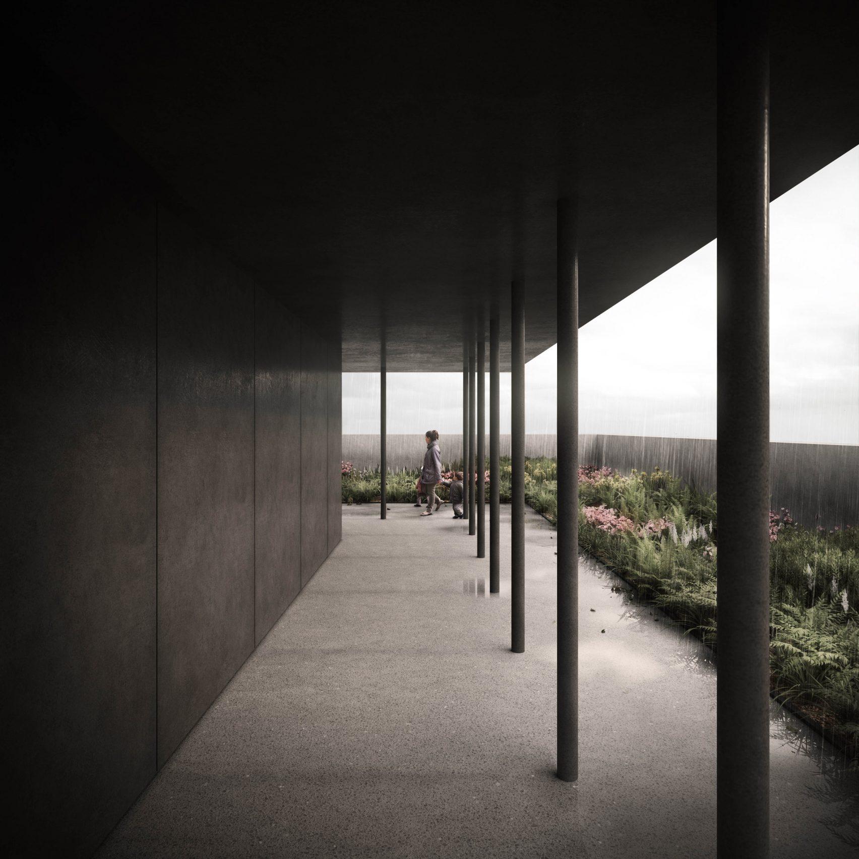 Здание Grenfell Tower будет перевоплощено в черный бетонный мемориал