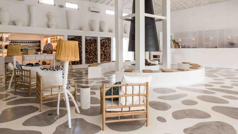 Идея для настила - Создайте забавный узор, покрасив бетонный пол
