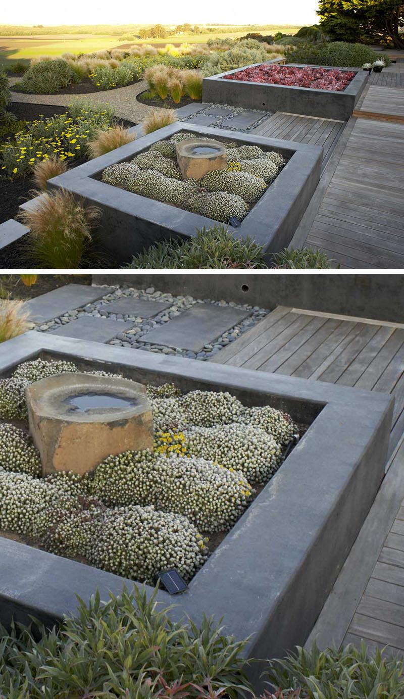 10 отличных примеров встроенных ящиков для растений
