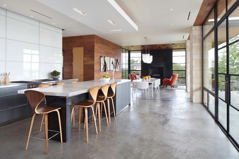23 Фотографии, показывающие, как в доме можно использовать бетонные полы