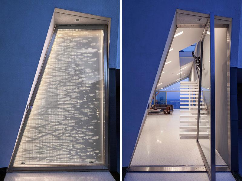 Идея для дизайна двери - поэкспериментируйте с формой