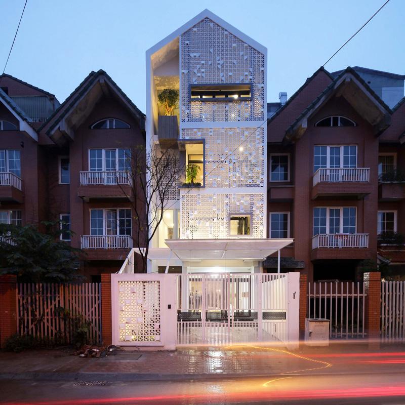 Посмотрите, как этот дом стал лучшим в квартале, благодаря использованию одного простого материала