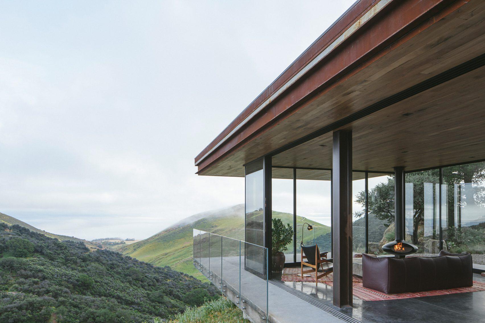 Офф-грид гостевой дом от компании «Anacapa Architecture»